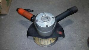 DOTCO 12S5378-09 Air Angle Grinder,Handle Exhaust 6000 rpm, USA MADE SHIPS FREE