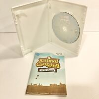Animal Crossing City Folk Nintendo Wii Game Complete & Tested