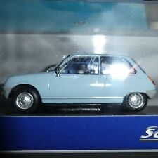Renault 5 TL 1972 956 cc engine in Powder Blue 1;43 Solido New issue  model.
