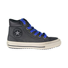Converse Chuck Taylor All Star PC Boot Hi Kids' Shoes Almost Black-Blue 665161C