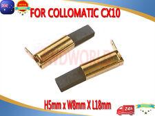 PREMIUM P2018 Kohlebürsten Motorkohlen COLLOMIX CX 10 CX 100 HF CX 22 Duo