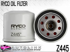 RYCO OIL FILTER Z445 SUIT NISSAN 200SX S14 S15 2.0lt 4CYL TURBO 10/1994 - 2002