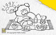 Piggy'S PICNIC-Nellie SNELLEN Nellie's ACRILICO TRASPARENTE STAMP pi001