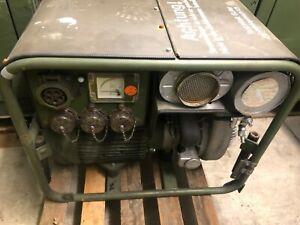 KIRSCH KNURZ BUNDESWEHR ARMEE STROMERZEUGER STROMAGGREGAT NOTSTROM 230/(400V