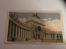 Nations of the west court of sun & stars Panama-Pacific exposition postcard
