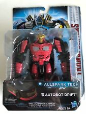 New In Box Transformers Autobot Drift All Spark Tech Red