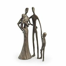 Danya B™ Family of Four Cast Bronze Sculpture ZD6780S
