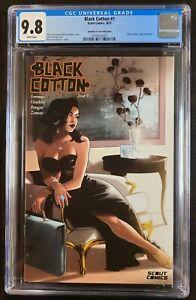 Black Cotton #1 Santana Webstore Exclusive CGC 9.8 Scout Comics