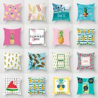 Throw 18'' Sofa Polyester Decor Cover Pillow Cushion Home Waist Case