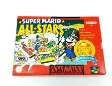Super Nintendo Super Mario All Stars Classic Complete [ITA] ► Near Mint ◄ SNES