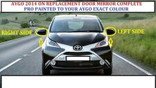 TOYOTA AYGO DOOR Wing Mirror ELECTRIC RH OR LH PRO PAINTED ANY TOYOTA COLOUR