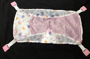 Summer Infant Comfy Clean Deluxe Newborn Replacement Sling ONLY For Tub (Pink)
