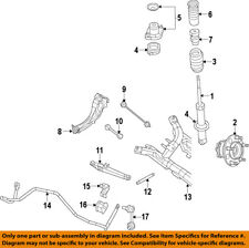 Jeep CHRYSLER OEM 07-15 Patriot Rear-Trailing Control Arm 5105927AB
