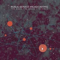 PUBLIC SERVICE BROADCASTING - THE RACE FOR SPACE/REMIXES   VINYL LP + MP3 NEU
