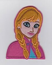 Frozen's Princess Anna Embroidered Iron On / Sew On Patch