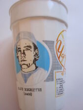 New York Yankees souvenir plastic cup 1987 Dave Righetti Rags