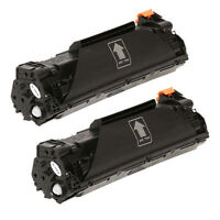 2PK NON-OEM CF283A Black Toner Replace for HP83A M127fn,M127fw,M125nw,M125rnw