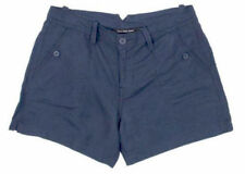 Calvin Klein Jeans Women's Linen Shorts - Midnight Oil - Size: 4             J-5
