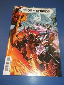 X of Swords Destruction #1 A Cover VFNM beauty X-men Wow