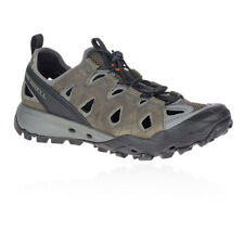 Merrell Mens Choprock Leather Sieve Shoes Sandals Brown Sports