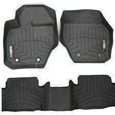 Set of Aftermarket WeatherTech Black Rubber Floor Mats for Volvo XC60 10-17