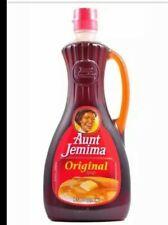 New listing Aunt Jemima Original Pancake Waffle Syrup 24 oz