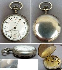 Montre à gousset en argent massif LIP 19e siècle silver pocket watch à clé