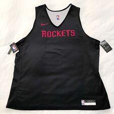 NWT Nike Official NBA Houston Rockets Practice Jersey AJ4732-010 Harden Sz 3XL