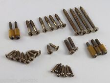 AGED NICKEL SCREW SET (34 screws) FOR EARLY 1960'S TELECASTER Tele