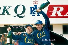 Colin McRae Subaru Impreza 555 Winner Rally GB 1994 Photograph 2