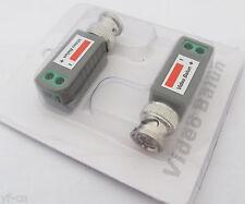4 Pack/par coaxial de red CAT5 para Cámara CCTV BNC Video Balun Transceptor Adaptador