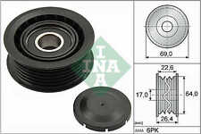 MERCEDES Auxiliary Belt Idler Pulley Deflection INA 0002020019 0002020919 New