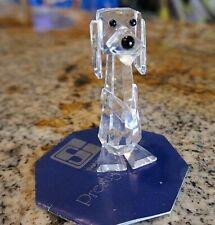 Swarovski Crystal STANDING DOG (PLUTO) 7635NR70