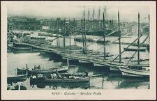cartolina CATANIA vecchio porto