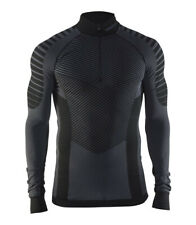 Functional CRAFT Active Intensity Zip ,Men's , Compression, Long Sleeve, Black
