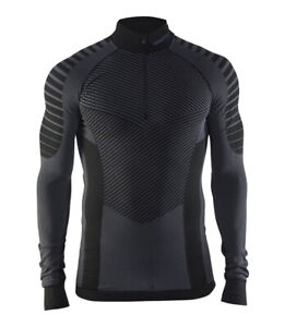 Functional CRAFT Active Intensity Zip ,Men's , Compression, Long Sleeve, SIZE S