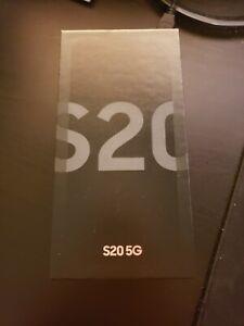 Samsung Galaxy S20 5G SM-G981U - 128GB - Cosmic Gray (T-Mobile) IN BOX NEW!!