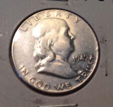 1949 50C Franklin Half Dollar