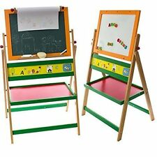 Kids Art Double Sided Magnetic Whiteboard 2 in 1 With Paper Activity Fun Play