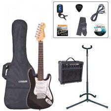 Encore ebp-e375blk-3/4-size Guitarra Eléctrica Principiante Equipo - NEGRO