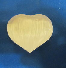 small Selenite Heart  from Morocco..