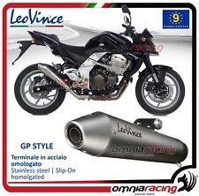 Leovince GP Style Terminale inox omologato Kawasaki Z750 2007>2014 /R 2011/2014