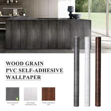 5M Klebefolie Tapete Möbel Tür Küche Selbstklebende Folie Holzoptik Küchenfolie
