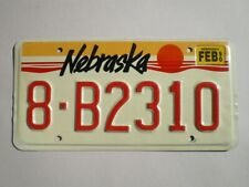 AUTHENTIC 1990 NEBRASKA LICENSE PLATE