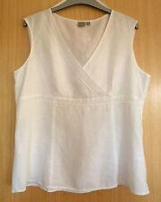 Linen Sleeveless Tops & Shirts TU for Women