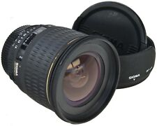 NIKON Sigma EX 24mm 1.8 DG Aspherical + Hood