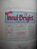 Insulbright - Insulbrite The Warm Company 36x22 Insulated Batting for Potholders