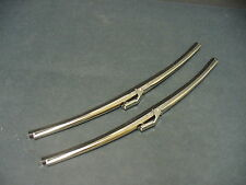 "Ford windshield wiper blades Fairlane Falcon Torino Galaxie 15"" stainless"