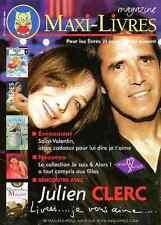JULIEN CLERC CARLA BRUNI SARKOZY Belgian Magazine