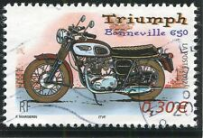 TIMBRE FRANCE OBLITERE N° 3515 MOTO / TRIUMPH / Photo non contractuelle